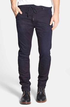 cca5c2f63e256 DIESEL® Krooley Jogg Slouchy Skinny Fit Jeans (0829P) Fashion Joggers