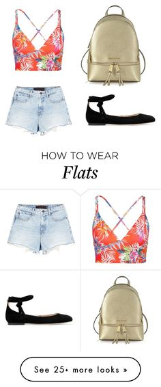 """""""Untitled #188"""" by explorer-14547676995 on Polyvore featuring Vitamin A, Alexander Wang, Gianvito Rossi and Michael Kors"""