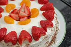 In Michelle's Kitchen: Strawberries and Cream Chinese Bakery-Style Chiffon Sponge Cake, Gluten-free or not