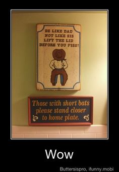This is hilarious! (sorry about the male bathroom humor, however it would be rather boring without it)
