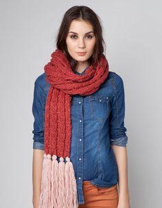 Bershka Ukraine - Two-tone scarf