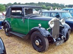 1934 Humber 12 Drophead coupe 1.6L 4-cylinder engine