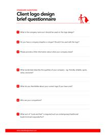 Logo Questionnaire | Gutensite - Best Website Design and CMS ...