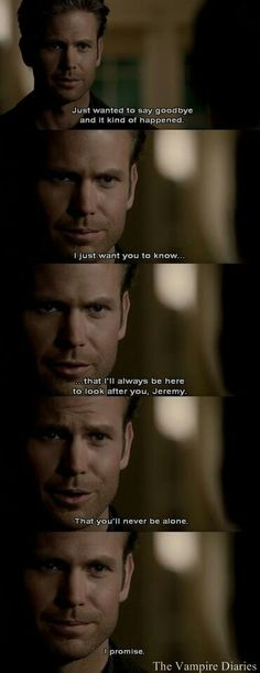 One of the hardest episodes to ever get through in my life... Welcome to Vampire Diaries ripping your heart out.