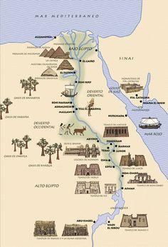 """Egipto viene a nacer en la zona como actualmente conocemos como Etiopia aproximadamente 4000 años a.C a orillas del rio Nilo, cuyas tierras solían llamarlas Kemet """"La tierra negra"""""""