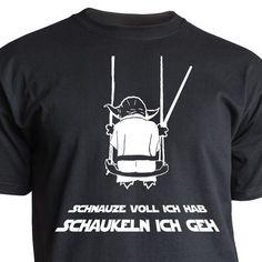 Nukular T-Shirt Motiv  schaukeln ich geh  lustig für Fans von Yoda, Star Wars