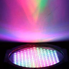 LIXADA Mini 25W DC12V DMX-512 127 LED RGB Stage Par Light Flash Strobe Party Disco DJ KTV with Sound Control