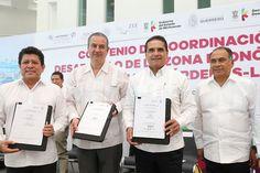 Seis empresas desean invertir en el Puerto de Lázaro Cárdenas con un valor de 2 mil 500 mdd, lo que generará 3 mil 500 empleos, anuncia el gobernador de Michoacán, ...