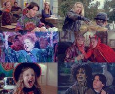 HOCUS POCUS. Seriously the best Halloween movie ever.