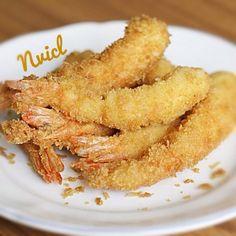 Ebi Tempura #Japanese #Food #Prawn #Fried #Tempura #Furai #Homecook