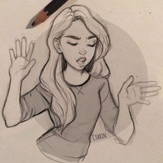 """""""Nope I'm out"""" A guide to dealing with rude peeps lol. This goes out to people surrounded by those, ignore those who are trying to dull your shine! Also for those who missed it I posted a new youtube video today in which I answered your questions! Click the link in my bio to see it! #drawing #illustration #sketch #doodle #sketchbook #art"""