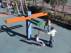 juego infantil parque madera - Buscar con Google