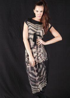 LEMURIA Multi Kleid Luna Stampa - Online Shop