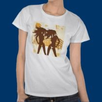 Girls on the Beach t-shirts by FloridaGulfVacation