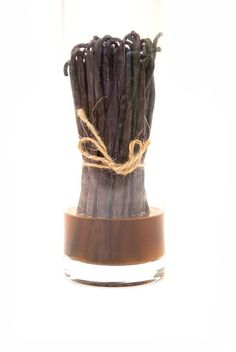 Plumping vanilla beans in vodka or rum is a great way to use, store and even reconstitute dried vanilla beans in this easy how-to recipe. Vanilla Extract Recipe, Vanilla Recipes, Homemade Vanilla, Lemon Recipes, Ice Cream Recipes, Baking Recipes, Bean Varieties, Madagascar Vanilla Beans, Gourmet Gifts