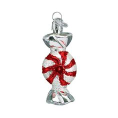 Old World Christmas Peppermint Candy Glass Blown Ornament ** This is an Amazon Affiliate link. Find out more about the great product at the image link.