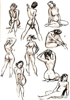 Milenko Tunjic‏ ✤ ||  female form and poses
