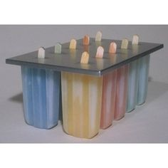 Popsicle Molds & Storage... it doesn't need to be this particular one, but I like the size of these popsicles. - $20