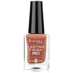 Rimmel Lasting Finish Pro Nail Enamel Hot Cocoa ** Details can be found by clicking on the image. (This is an affiliate link) #NailPolish