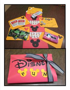 Countdown to Disney Trip!  I got this great idea from a Pinterest post.  I know the kids will like to get these.