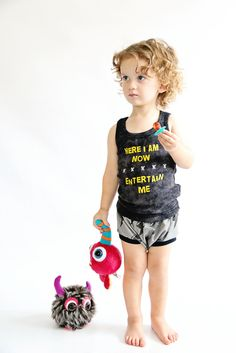 *new* Here I Am Now, Entertain Me Vintage Tank – Still Rad Clothing