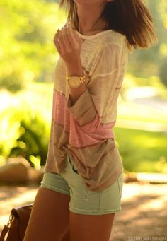 Summer top..loose and feminine