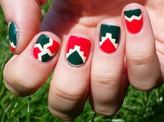 Nail Art and Co: Graphisme de fin d'été ou l'amour fou des vernis NCLA