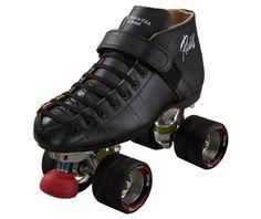 Riedell Quad Roller Skates - 695 Black Widow