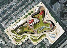 Martha Schwartz Partners (MSP) - Proyectos - Parques - Khalidiya: