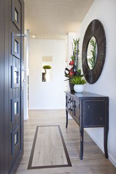 Step through to a relaxed atmosphere House Design, New Homes, House Plans, Entrance Ways, House, Show Home, Home, Front Door Entrance, Entrance