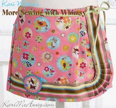 """""""June Bug Skort"""" from More Sewing with Whimsy by Kari Mecca of Kari Me Away"""