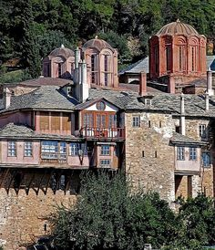 Mount Athos _ The Monastery of Dochiariou, Greece
