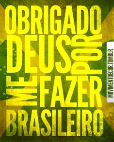 Recado Facebook Sou feliz por ser brasileiro!