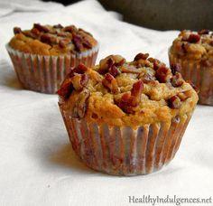 Gluten-Free Banana Nut Muffins (Sugar-Free!) by HealthyIndulgencesBlog, via Flickr  (S Helper)