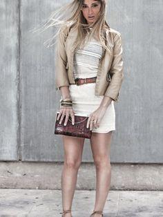 Issimo Outfit   Primavera 2012. Combinar Chaqueta-Cazadora Beige Sfera, Cómo vestirse y combinar según Issimo el 2-5-2012