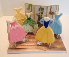 disney princess dress cookies - Bing Images