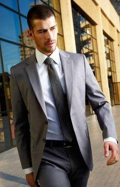 Mens Fashion Suits, Mens Suits, Men's Fashion, Suit And Tie, Attractive Men, Smart Casual, Perfect Man, Dapper, Suit Jacket