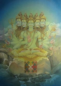 Pancha mukhi shiva