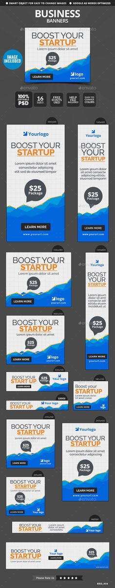 Business Banners Template #design Download: http://graphicriver.net/item/business-banners/12298373?ref=ksioks