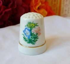 Vintage THIMBLE Frankenmuth Michigan Thimble by vintagelady7, $5.00