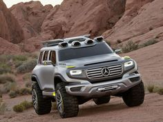 Mercede Ener-G-Force design has been integrated with the Tata Xenon truck to develop a whole new vehicle by a modifier.