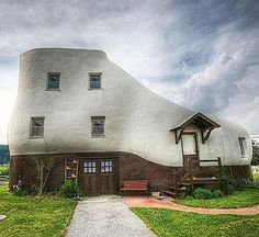 Strange House...there's one like it in Pennsylvania....wonder if this is the same one?