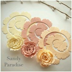 Sandy paradise large royal roses flower packsYou will receive 4 of each colour total of 12 flowers in each pack.
