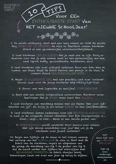 10 tips voor een enthousiaste start van het nieuwe schooljaar! Co Teaching, Teaching Quotes, Teaching English, Classroom Organisation, Teacher Organization, Teacher Hacks, Beginning Of The School Year, First Day Of School, Learn Dutch