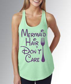 PURPLE Mermaid Hair Don't Care Dinglehopper  by CaribouClassics