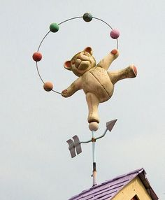 cute teddy with balloons
