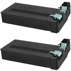 Twin Pack - Compatible replacement for Samsung SCX-D6555A laser toner cartridge. Includes 2 Black laser toner cartridges.