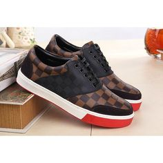 Louis Vuitton LV Leather shoes for men, 1 : 1 quality trainers & sneakers, inner hogskin #LNVSHO-469