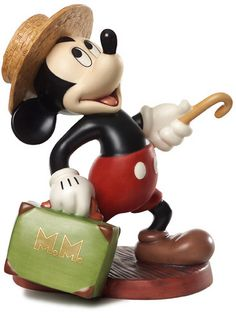 "Mouse Takes a Trip - Mickey Mouse - ""A Traveler's Tail"" Numbered Limited Edition (Available exclusively to retailers outside North America)"