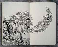 #143 Peter Pan by Picolo-kun Disney Fantasy, Disney Art, Fantasy Art, Disney Drawings, Art Drawings, Chiara Bautista, Gabriel Picolo, Peter Pan Art, Fanart